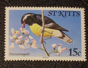 St, Kitts Scott #55 mnh