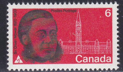 Canada # 517, Sir Oliver Mowat, Mint NH
