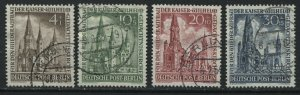 Germany Berlin Semi-Postals complete set of 4 used