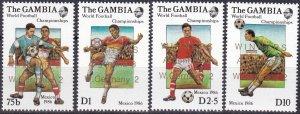 Gambia #639-42  MNH CV $7.25 (Z5422)