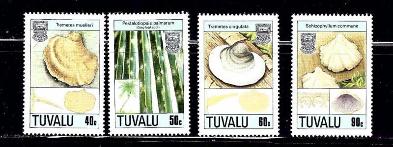 Tuvalu 497-500 MNH 1988 set
