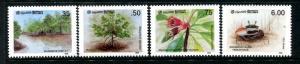 Sri Lanka 815-818, MNH, Plants 1986. x22717