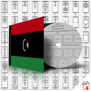 LIBYA STAMP ALBUM PAGES 1912-2011 (370 PDF digital pages)