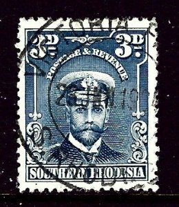 Southern Rhodesia 5 Used 1924 issue    (ap4089)