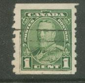 Canada SG 341 FU  imperf top & bottom