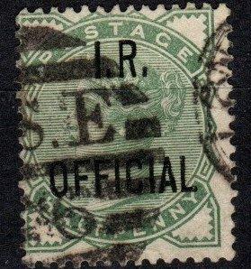 Great Britain #O2  F-VF Used CV $52.50  (X3402)