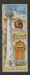 New Caledonia (NCE) Scott 844 Used CTO Lighthouse stamp
