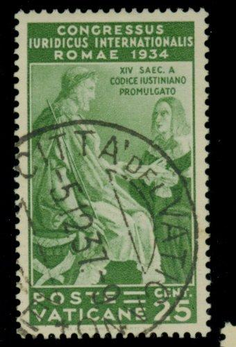 Vatican City #43 Used VF Cat$35