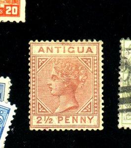 Antigua #13 MINT FVF OG HR Cat$225
