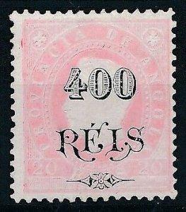 Angola 1902 D. Luis I #60 RARO MNG