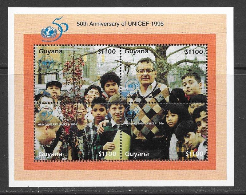 Guyana 3027 MNH s/s, f-vf, see desc. 2020 CV$ 30.00