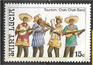 ST. LUCIA, 1986, MNH 15c, Chak-Chak Band Scott 862