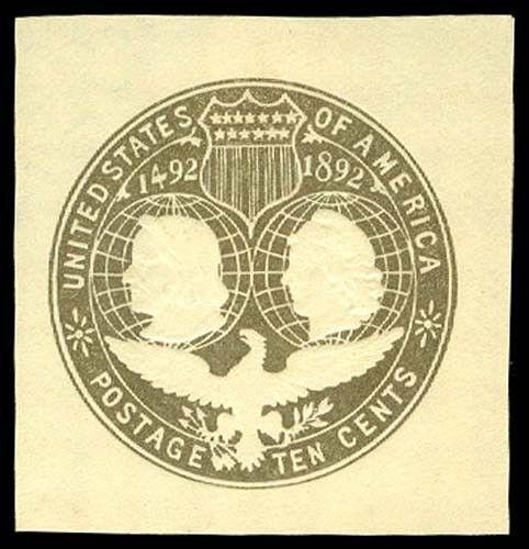 U.S. CUT SQUARES U351  Mint (ID # 57359)