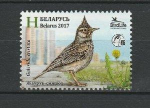 Belarus 2017 Birds MNH stamp