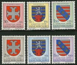 Luxembourg - Scott B204-09 VF MNH