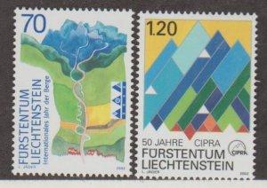 Liechtenstein Scott #1227-1228 Stamp - Mint NH Single