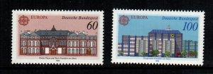 Germany  1601 - 1602  MNH cat $ 2.80