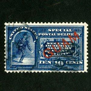 Guam Stamps # E1 F-VF Used fresh Scott Value $200.00