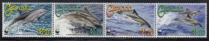 Grenada MNH Sc 3654 Value $ 3.75 US $$ WWF  Dolphins