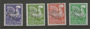 France 1960 Sc 952-955 MNH