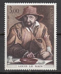 France SC# 1692  1980 3 Fr Painting MNH