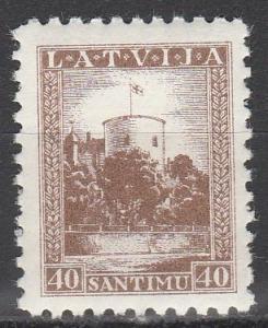 Latvia #179 F-VF Unused   (S2578)