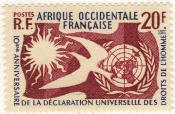 French W. Africa #85 MNH