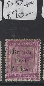 BRITISH EAST AFRICA (P3103B) BEA SURCH ON INDIA   8A SG 57   VFU