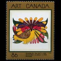 CANADA 1993 - Scott# 1466 Art Series Set of 1 NH