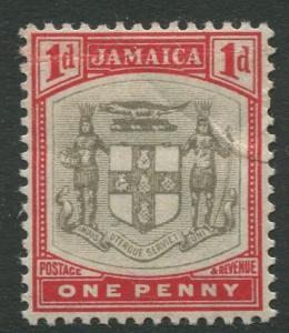 Jamaica #34 Arms of Jamaica  MLH  Scott CV. $5.00