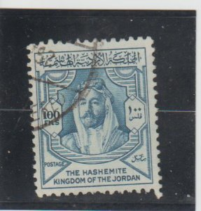 Jordan  Scott#  286  Used  (1952 Amir Abdullah Ibn Hussein)