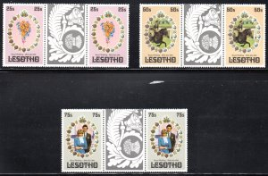 LESOTHO 335-7 MNH SCV $3.80 BIN $4.00 ROYALTY