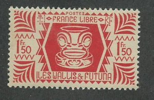 Wallis & Futuna Scott Catalog Number 134 Issued in 1944