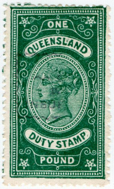 (I.B) Australia - Queensland Revenue : Stamp Duty £1