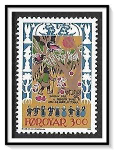 Faroe Islands #139 Ancient Folk Ballad MNH