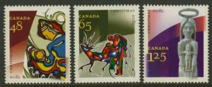 Canada 1965-7 MNH Christmas, Aboriginal Art