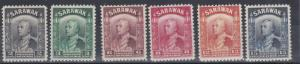 SARAWAK  1941  S G 107A - 115A  VALUES TO 15C BLUE  MH CAT £46