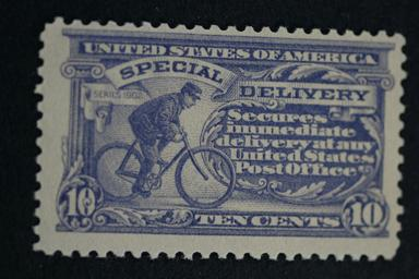 United States #E11 Special Delivery Dark Ultra 1917 MNH