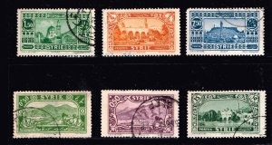 FRANCE COLONIES SYRIA  USED STAMP COLLECTION LOT