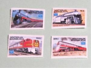 Antigua Barbuda - 934-37, MNH Set. AMERIPEX '86. SCV - $8.00