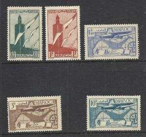 French Morocco #C20-2, C24, C26 mint cv $2.55