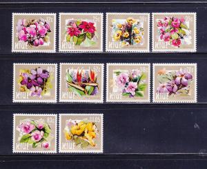 Niue 417-426 MNH Flowers (B)