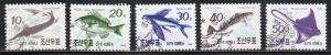 2951-55 - Cto-nh - Fish (cv $2.00)