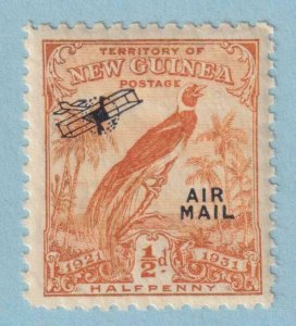 NEW GUINEA C14 AIRMAIL  MINT NEVER HINGED OG ** NO FAULTS EXTRA FINE!