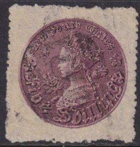 Australia - New South Wales 1861-1880 SC 44e Used