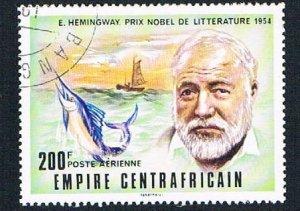 Central Africa Hemingway 200f - pickastamp (AP104112)
