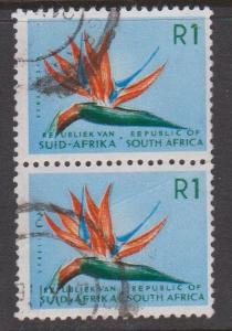 South Africa Sc#266 Used Pair