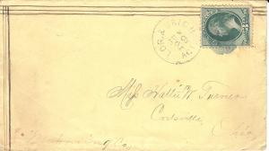 Cleveland, Lorain & Wheeling RR (568-B1)
