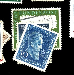GERMANY #686 695 772A USED FVF Cat $47