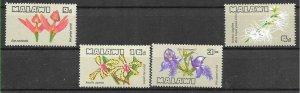 #8499 MALAWI  1969 FLORA  FLOWERS  ORCHIDS YV 110-3 MNH